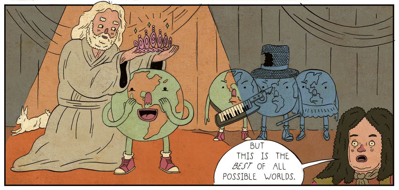 Комиксы о философах и философии