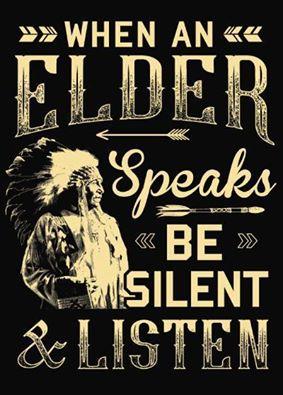 «Когда говорит старший – молчи и слушай»